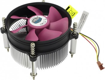 CPU Fan A116 (DP6-9GDSC-0L-GP) <для LGA1150/1155/1156/775, TDP 95-105 Вт, алюминиевый радиатор, вент. 92x92x25 мм, 3 пин, 2200 об/мин, потребляемая мощность 2.16 Вт, 41.43 CFM>