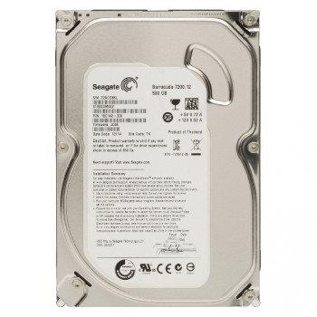 HDD SATA-III Seagate 500Gb, ST500DM002, Barracuda 7200 rpm, 16Mb buffer