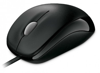 Мышь Mouse Microsoft Compact Optical Mouse 500 Black (800dpi, optical, USB, 3btn+Roll)Retail