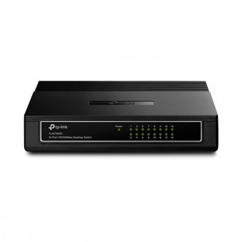 Коммутатор TP-LINK < TL-SF1016D > 16-Port 10 / 100Mbps Desktop Switch (16UTP 10 / 100Mbps)